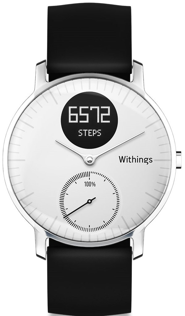 Withings Steel HR blanche 36 mm