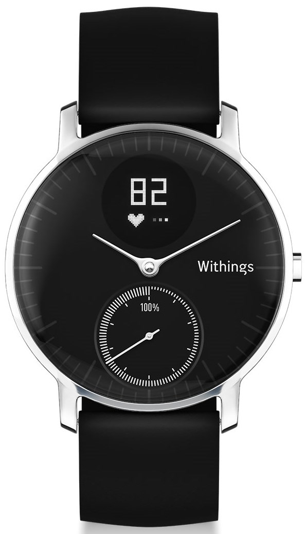 Withings Steel HR noire 36 mm
