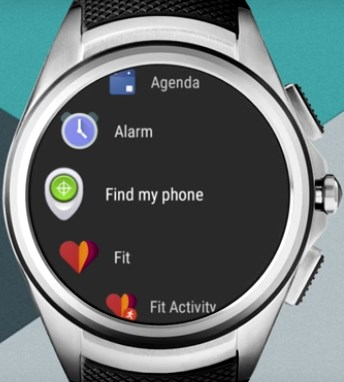 Android Wear 2.0 (carroussel)