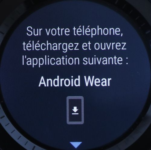 Android Wear 2.0 - mise en route (4)