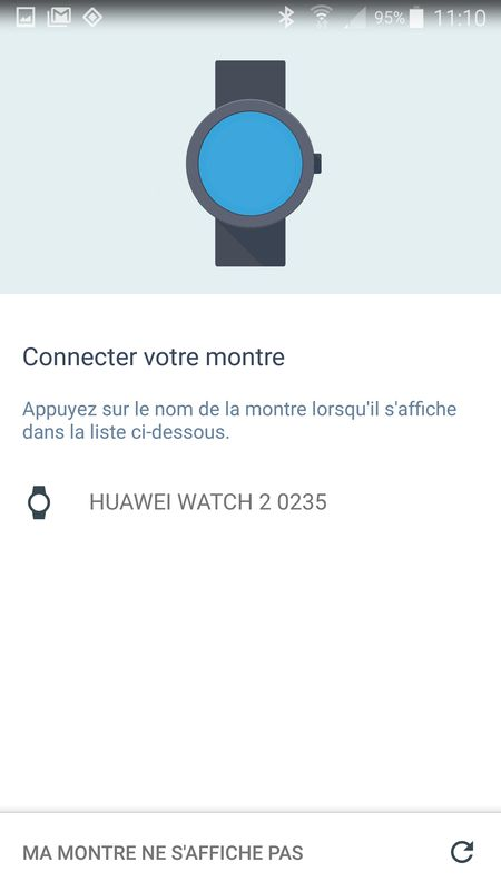 Android Wear 2.0 - mise en route (6)