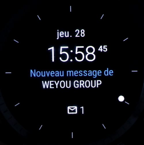 Android Wear (cadran 5)