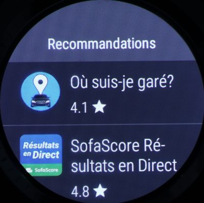 Google Play sur montre (3)