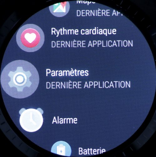 Liste des applications Android Wear (1)