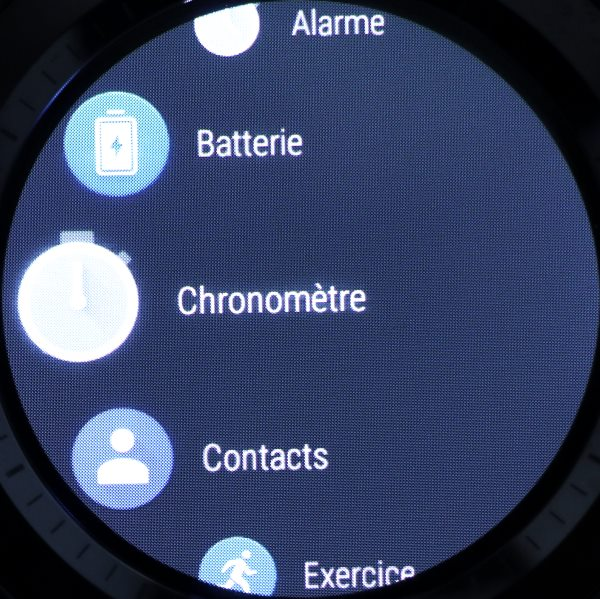 Liste des applications Android Wear (2)