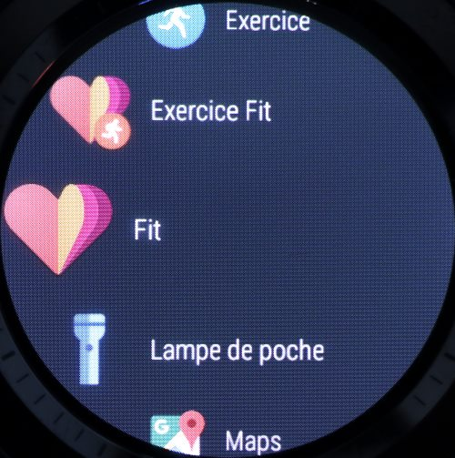 Liste des applications Android Wear (3)