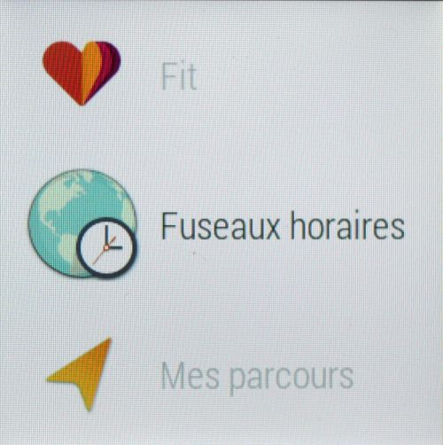 Android Wear (fuseaux)