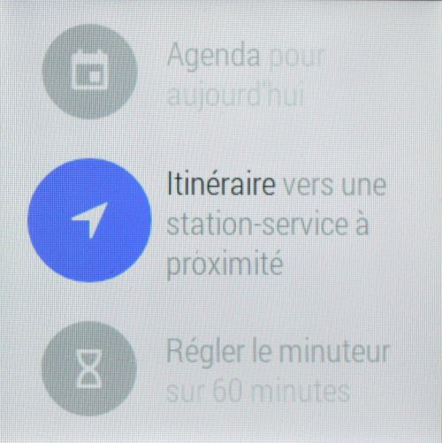 Commandes d'Android Wear (5)