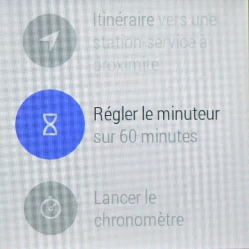 Commandes d'Android Wear (6)