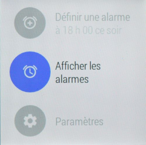 Commandes d'Android Wear (9)