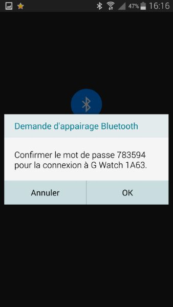 Installation d'Android Wear (2)