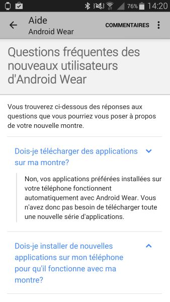 Installation d'Android Wear (4)