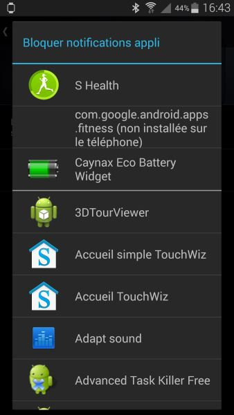 Applications Android Wear sur smartphone (4)