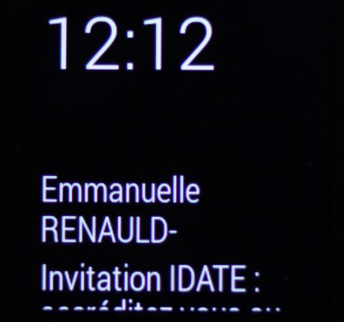 Android Wear, gestion des emails (1)