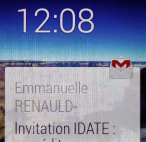 Android Wear, gestion des emails (2)