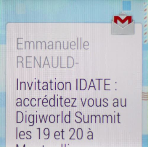 Android Wear, gestion des emails (3)