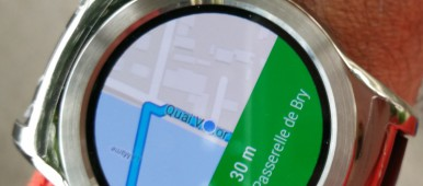 Google Maps pour Android Wear
